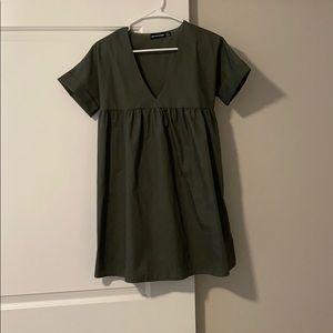 Olive Babydoll dress